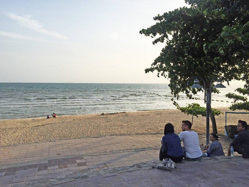 Dongtan praia de 300m de distância