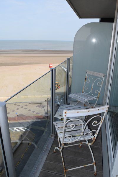 Very nice and cosy Studio wide views, location de vacances à Zeebrugge