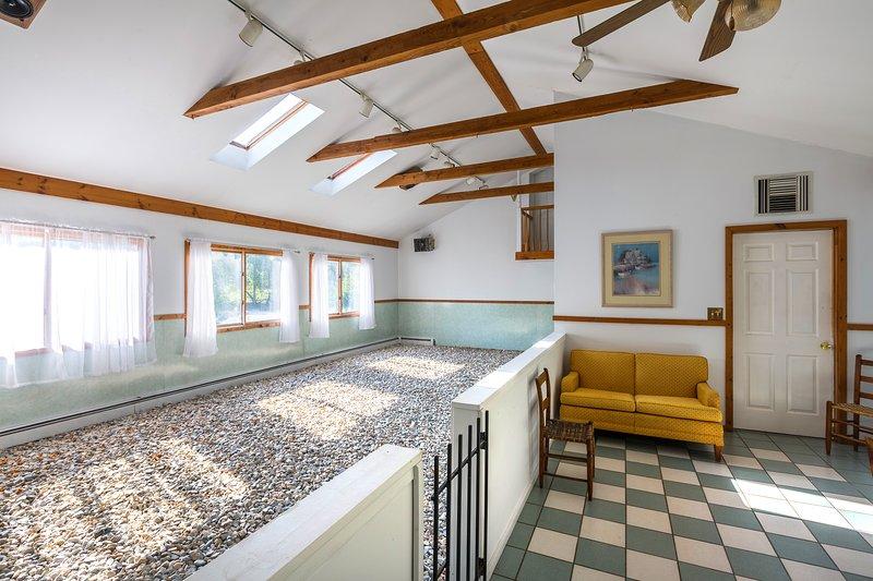 Das historische Haus bietet eine Kombination aus modernen Annehmlichkeiten und einen Vintage-Stil.