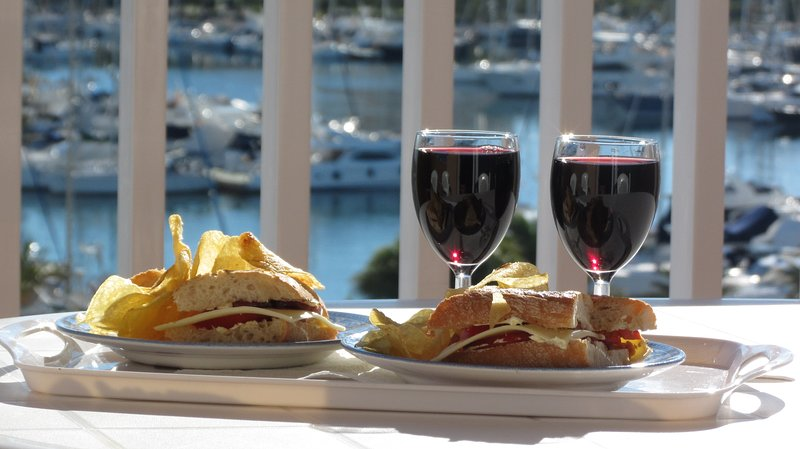 Dine on the balcony, relax and enjoy the view