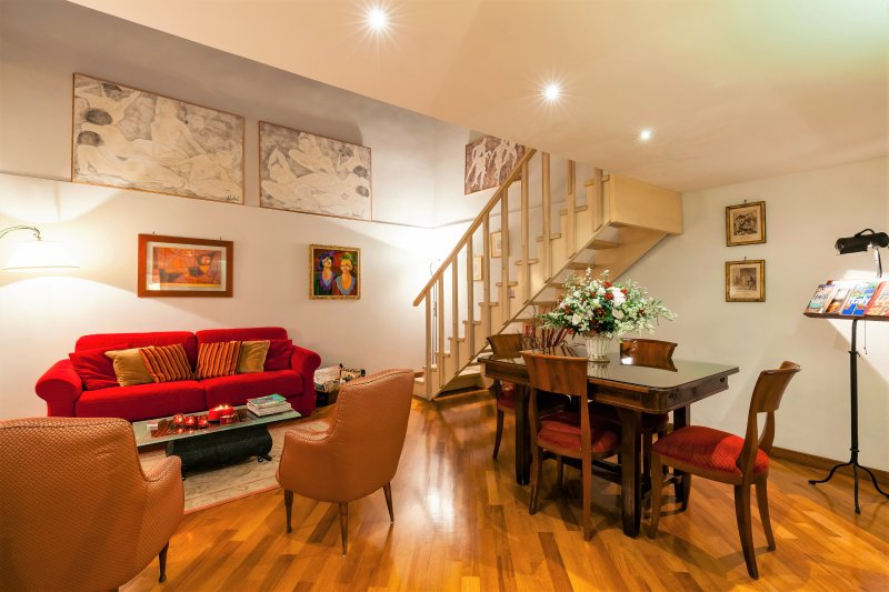 Central Rome Campo de' Fiori -Luxury Home-  wonderful reviews -free wifi-, holiday rental in Rome