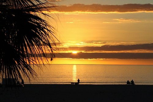 Sunset, Treasure Island Beach