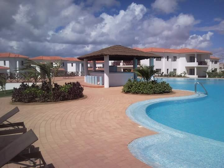 área da piscina em Tortuga Beach Resort and Spa