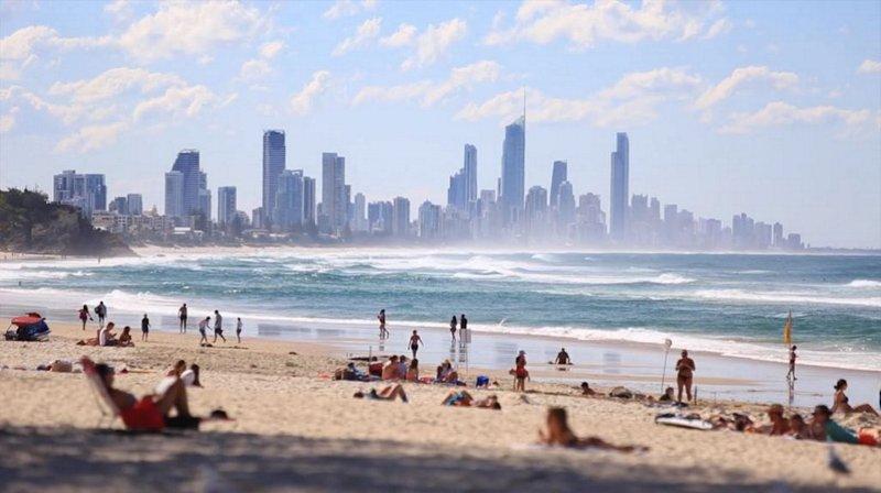 vue de la Gold Coast de la proximité de Miami Beach ... environ 15 min en voiture