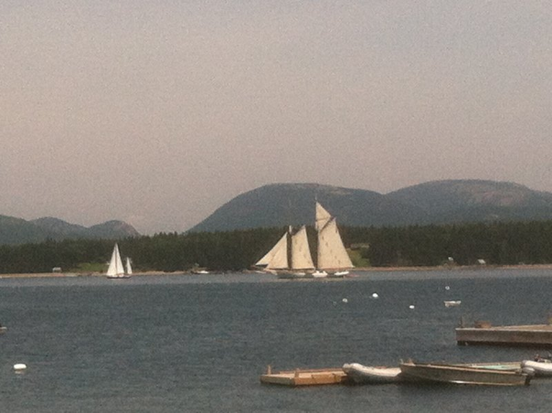 sailboat in view