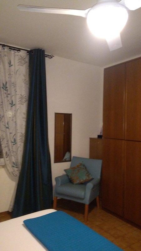 Angle bedroom