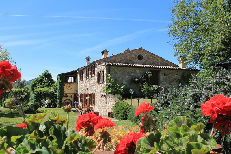 Camera standard, vista panoramica!, holiday rental in Urbino