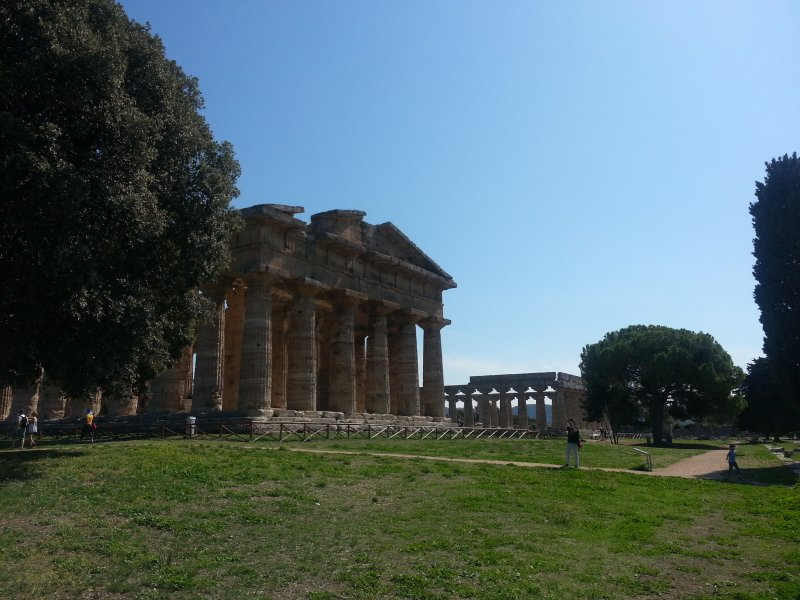Paestum Templo de Netuno e Templo de Hera