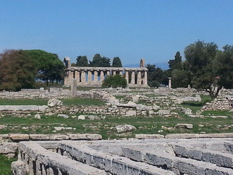 Paestum Templo de Atena