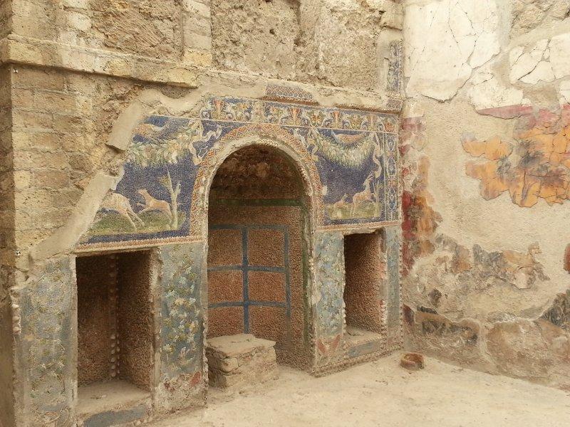 pasta de vidro mosaico Herculano