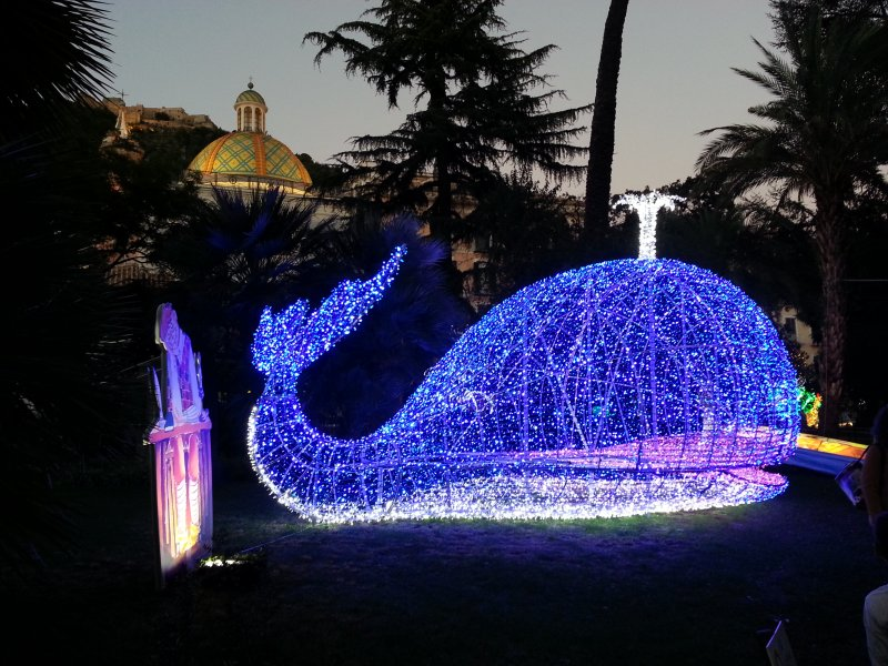 Luci d'Artista em Salerno