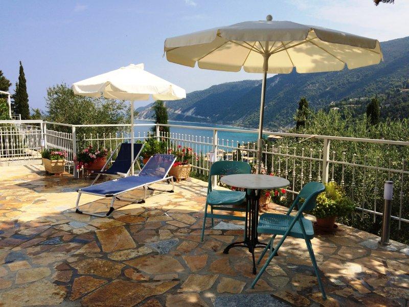 Agios Nikitas-Lefkada-Deep Blue-Harmony-sea view, holiday rental in Agios Nikitas