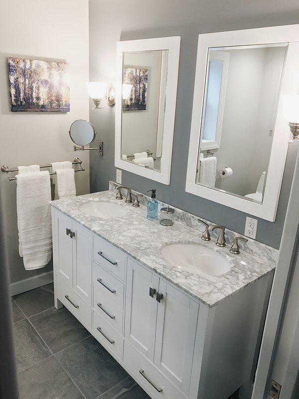 Double Marble Vanity
