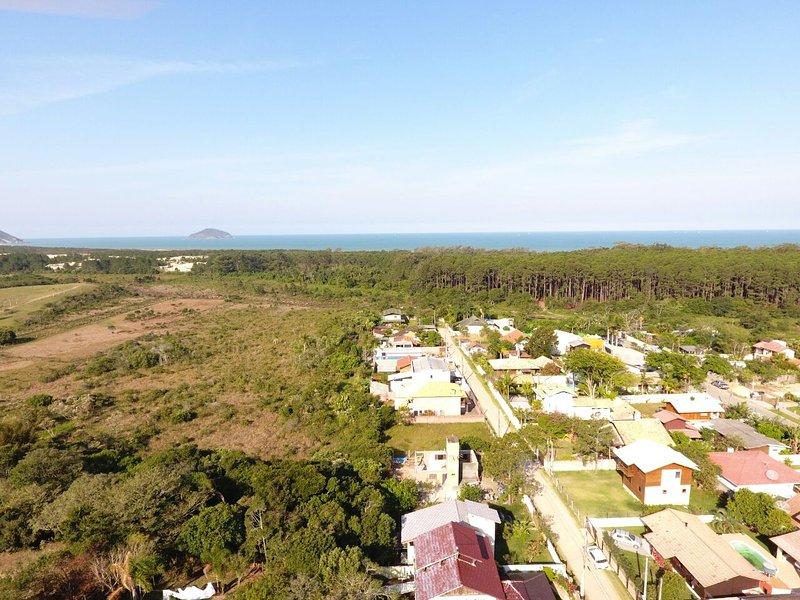 Veduta aerea del luogo, il quartiere, il Bungalow