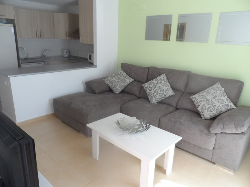 Lounge with large seating area