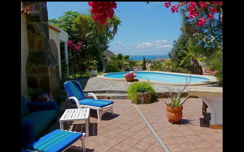 Green Oasis' Luxury Villa In Tauro, Mogan, Gran Canaria, vacation rental in La Playa de Tauro