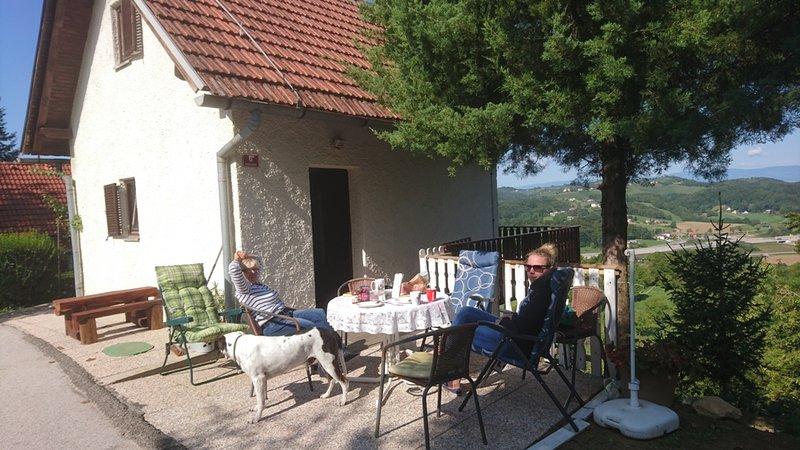 Ferienhaus perfekt zum Biken und Wandern, location de vacances à Lepoglava