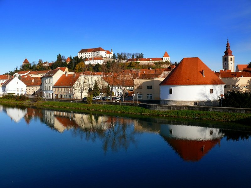 The historic Ptuj. Unique!