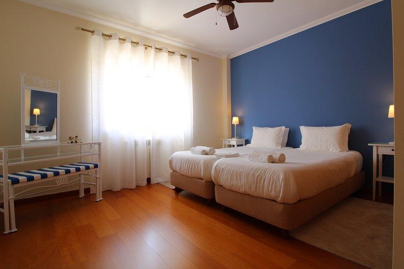 Chambre double Bleu