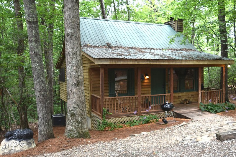 Pinetree Lodge - Romantic, Rustic & Elegant  The wish list complete., holiday rental in Helen