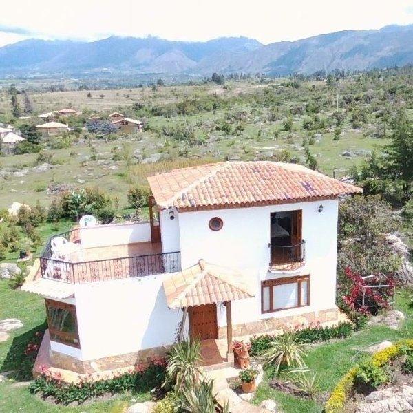 Cabaña en Villa de Leyva 'La Madriguera', holiday rental in Villa de Leyva