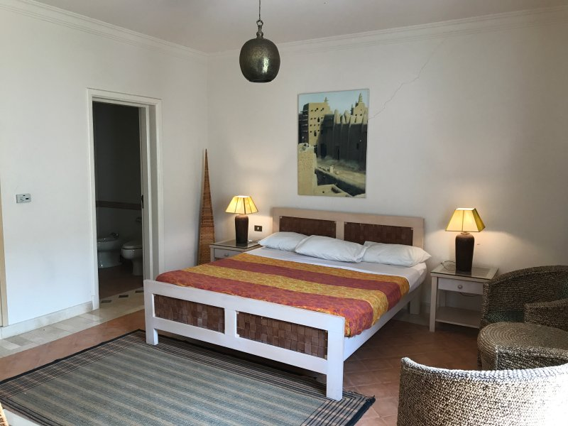 double bed room and ensuite