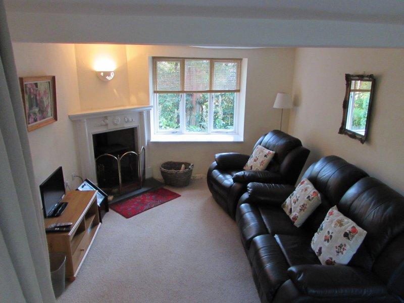 Pool cottage sitting room
