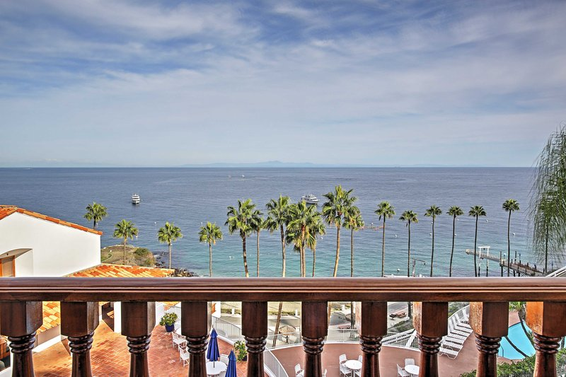 Step out to your private balcony and smell the fresh ocean air.