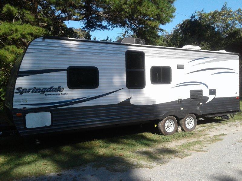 Back of camper
