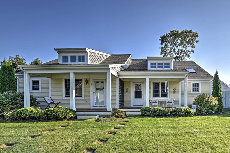 Experience the ultimate beach getaway when you stay at this Eastham Vacation Rental Cottage.
