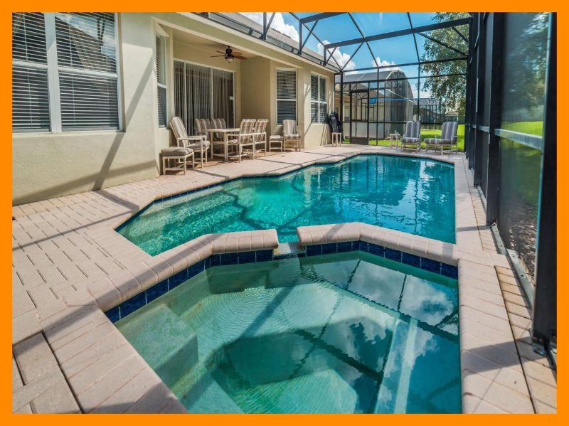 Windsor Hills Resort 141 - Luxury villa with pool and game room near Disney, holiday rental in Four Corners