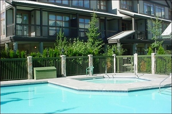 Enjoy the Year Round Pool and Hot Tub