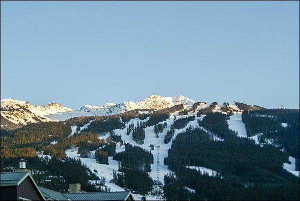 Vistas espetaculares da montanha