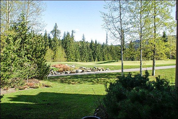 Com vista para o campo de golfe