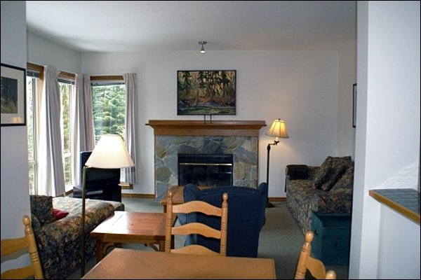 Warm and Cozy Living Area