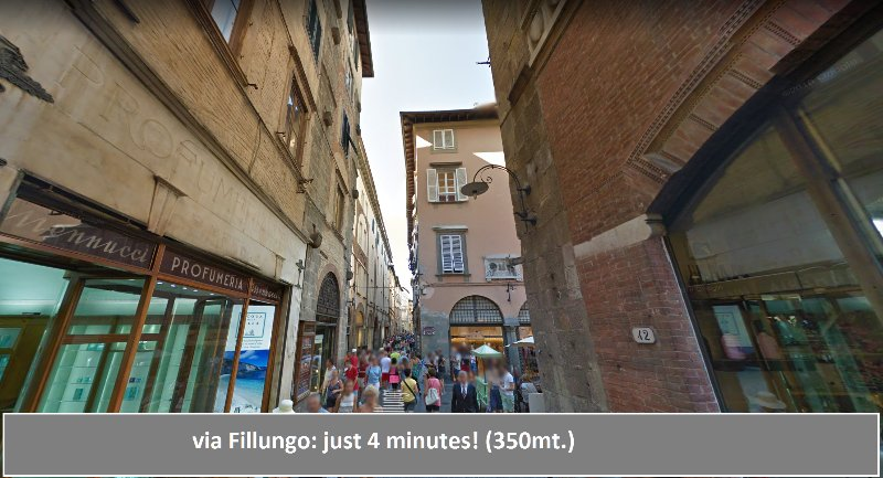 Palace of the stove - apartment for rent in Lucca -