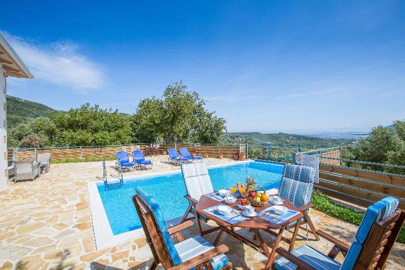 Villa Aloni, holiday rental in Spanochori