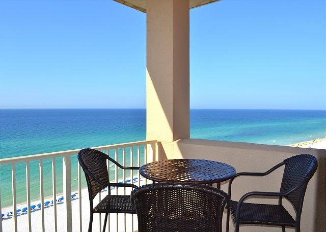 Beach Manor 1110 - Gulf front balcony