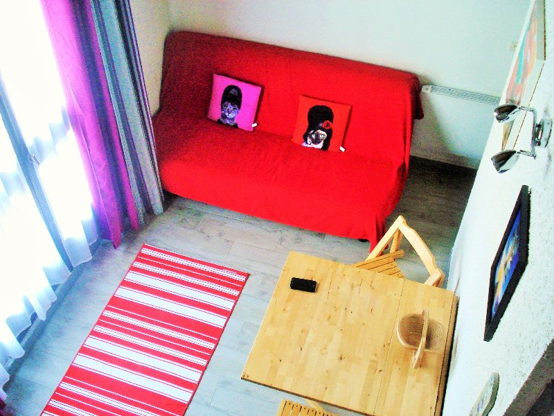 Studio/Mezzanine, Pra loup 1500, holiday rental in Pra Loup
