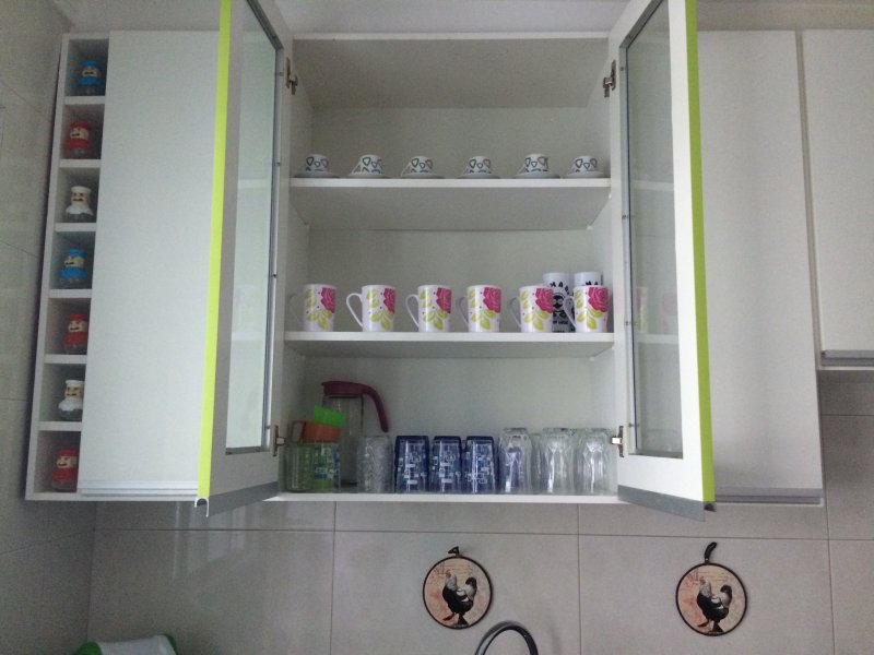 Kitchen planned and organized