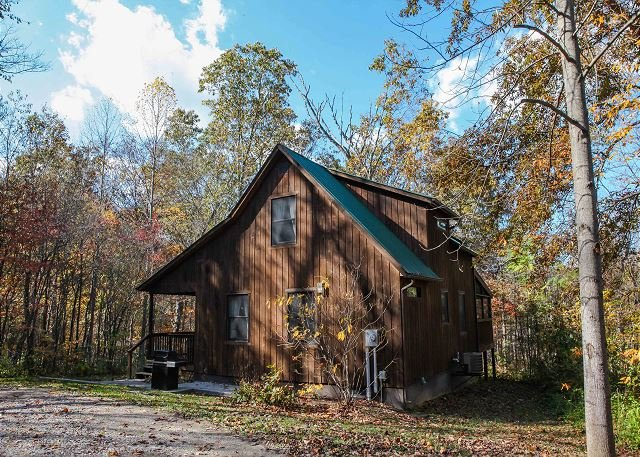 Couples Paradise Hocking Hills Has Air Conditioning And Grill