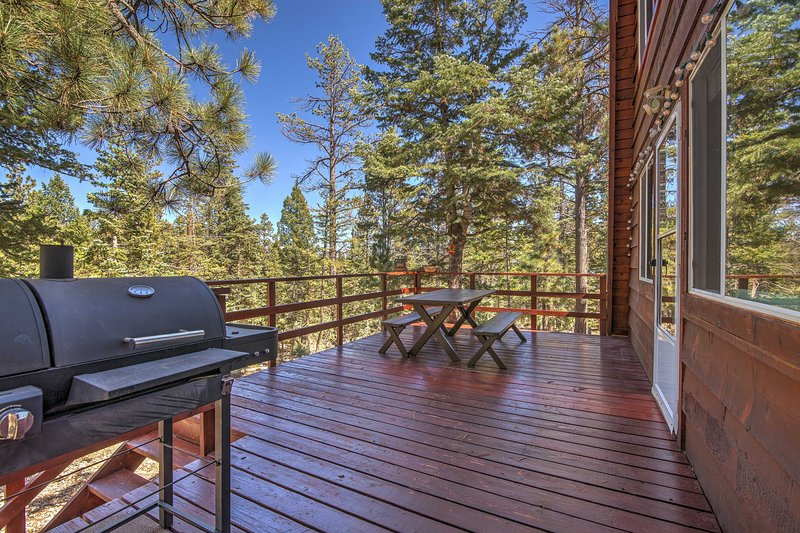 Your Utah escape starts at this vacation rental cabin in Duck Creek Village.