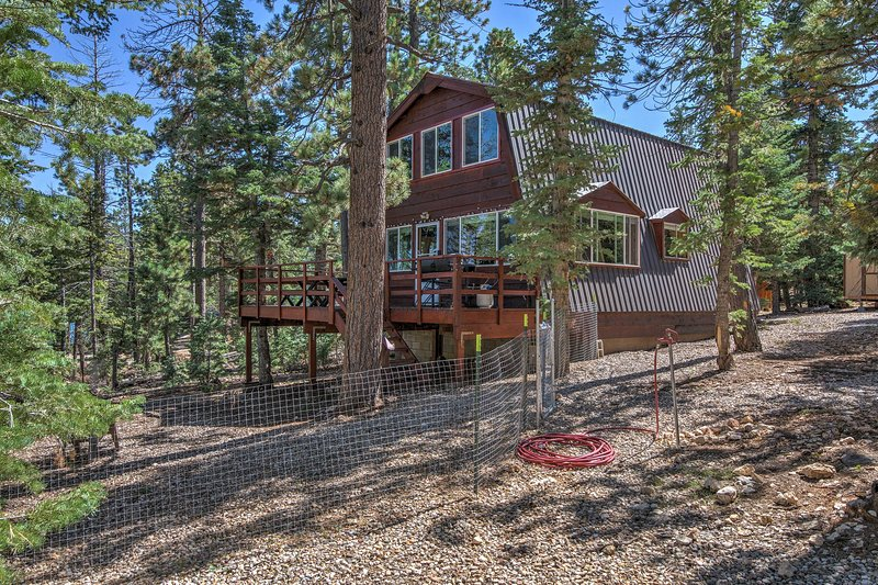 Dive into nature when you stay at this cozy cabin in Duck Creek Village.