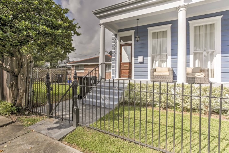 NOLA is waiting for you at this 2-bedroom, 1-bathroom vacation rental house!