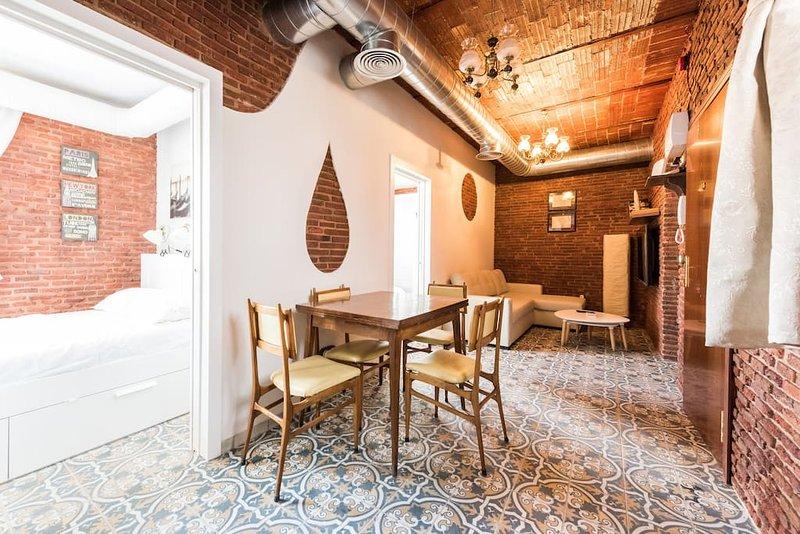 Rustic house in a beautiful corrala, aluguéis de temporada em Boadilla del Monte