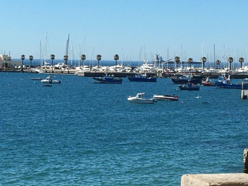 Love Boat in front Beach Appartment – semesterbostad i Estoril