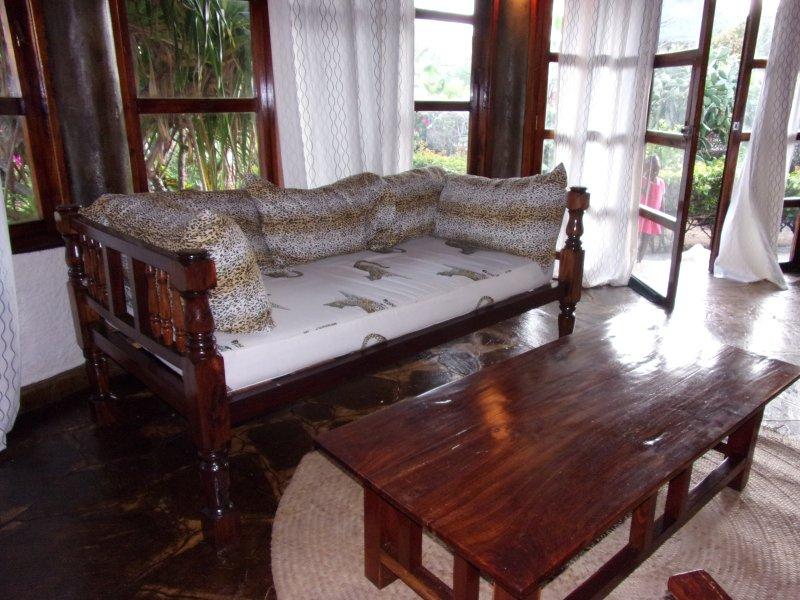 particolare zona relax living room.