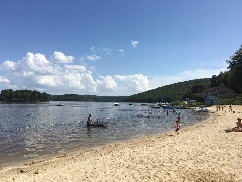 Auphelle beach, Lac de Vassiviere