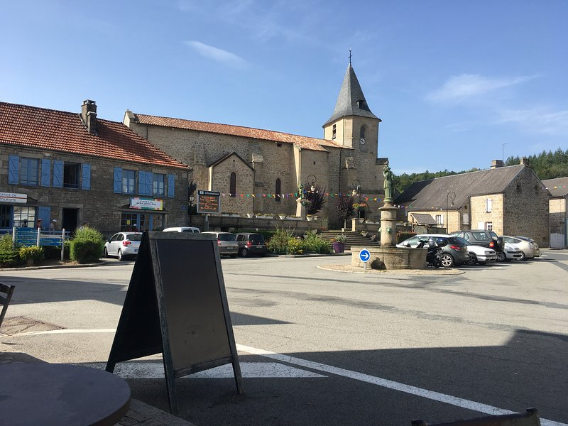 Square in Royere-de-Vassiviere