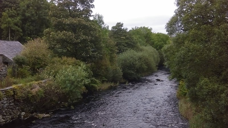 River Conwy in Ysbyty Ifan